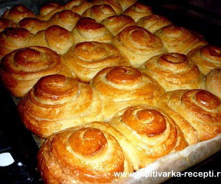 испечь булочки в духовке рецепт