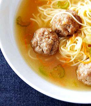 Суп из фрикаделек с вермишелью рецепт