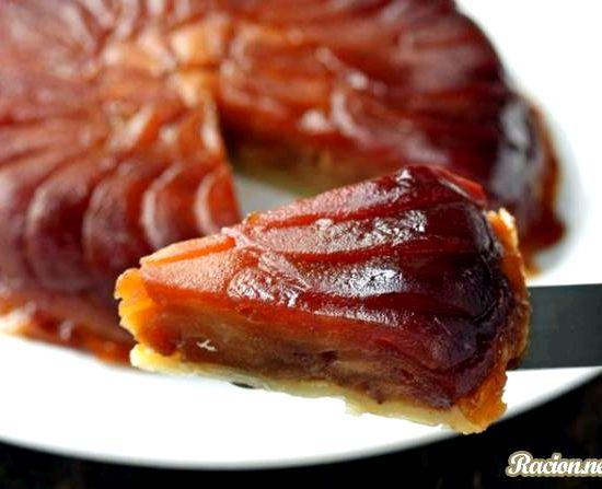 пирог открытый с яблоками рецепт с фото #10