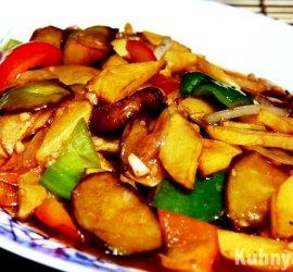 Баклажаны с картошкой по-китайски рецепт с фото
