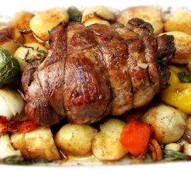 Баранина в духовке с картошкой рецепт с фото