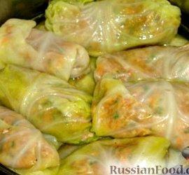 Голубцы из молодой капусты рецепт пошагово
