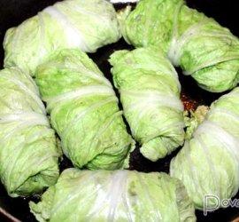 Голубцы из пекинской капусты рецепт с фото