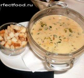 Грибной крем суп из шампиньонов рецепт со сливками