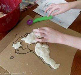 Как сделать солёное тесто для лепки рецепт для детей