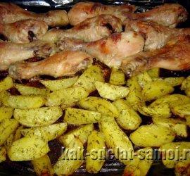 Куриные бедра в духовке в фольге рецепт с фото