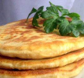 Лепешки с картошкой на сковороде рецепт с фото