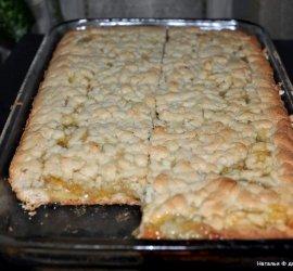 Лимонник пирог из песочного теста рецепт