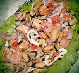 Морской коктейль рецепт салат с фото