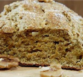 Рецепт бездрожжевого хлеба в духовке