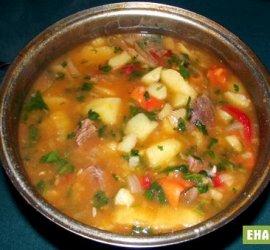 Рецепт картошки тушеной с мясом в кастрюле
