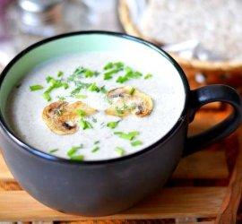 Рецепт суп крем из шампиньонов со сливками рецепт