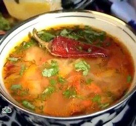 Шулюм из баранины рецепт с фото от сталика ханкишиева