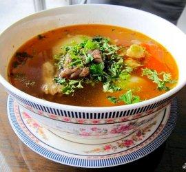 Шурпа из баранины рецепт пошаговый с фото