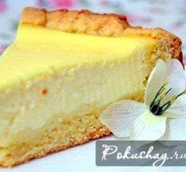 Сметанный пирог рецепт простой в духовке пошаговый рецепт