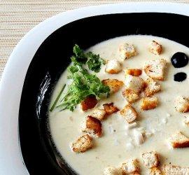Сырный крем суп рецепт с плавленным сыром