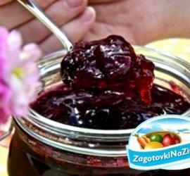 Варенье из вишни с косточкой рецепт густое