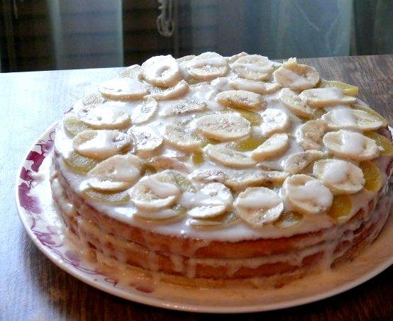 Торт Бисквитный рецепт в домашних условиях Рецепт