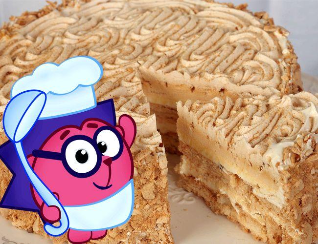 Торт киевский пошаговое фото