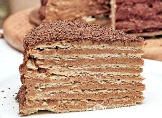 Микадо торт рецепт с фото пошагово в домашних условиях
