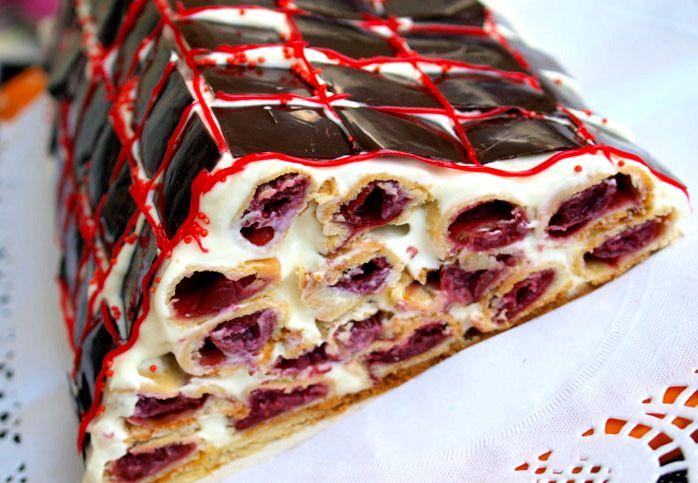 пошаговый фото рецепт медового торта в домашних условиях