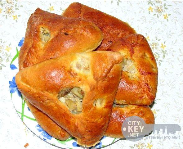 Треугольники с картошкой рецепт пошагово