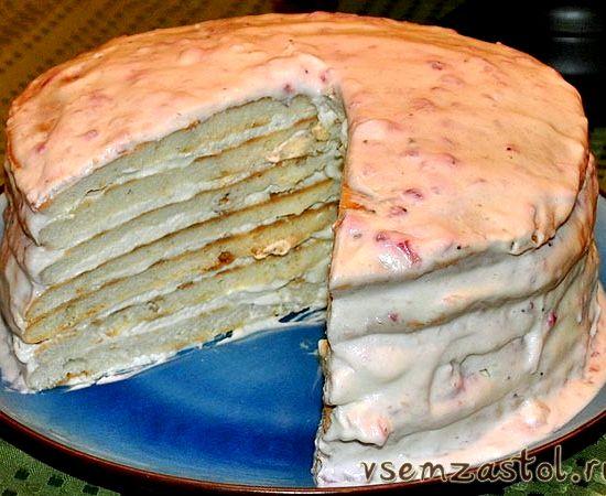 Творожной торт своими руками