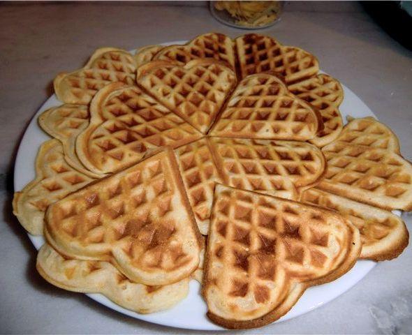 Вафли для вафельницы рецепт мягкие