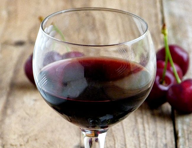 Как сделать вино из вишни с фото