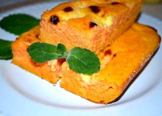 Творожно-морковная запеканка в духовке пошаговый рецепт с