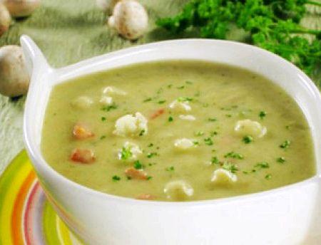 Диетический суп пюре из кабачков рецепт